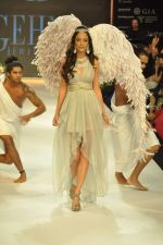 Angela Jonsson walks the ramp for Gehna Jewellers Show at IIJW Day 1 on 19th Aug 2012  (5).JPG