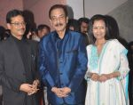Krishnendu Sen with Subrata Roy at Krishendu sen album launch in Mumbai on 21st Aug 2012.jpg