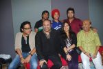 Shamir Tandon,Leslie Lewis,Sameer,Vipul Mehta, Poorvi Kaoutish, Devendra Pal Singh, Amit Kumar at the Recording of Indian Idol The Fabulous Four in Mumbai on 24 August 2012  (24).JPG