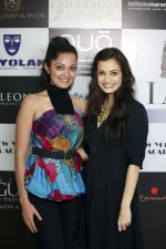 Sheena Chohan with Dia Mirza @ I am She -2012 auditions.JPG
