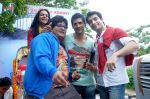 Prateek Chakravorty, Sharad Malhotra, Bidita Bag, Karan Sagoo at Sydney With Love film bus tour promotions in Mumbai on 31st Aug 2012 (41).JPG