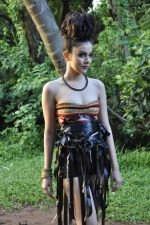 Designer Umair Zafar shoots with Femina Miss India finalist Ridhima Pai in Madh on 1st Sept 2012 (5).JPG