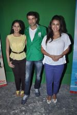 Sai Lokur,Kranti Redkar at Marathi version of No Entry press meet in Filmalaya on 1st Sept 2012 (31).JPG