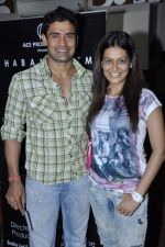 Payal Rohatgi, Sangram Singh at Rael Padamsee_s play Broken Images in Sophia Auditorium on 2nd Sept 2012 (15).JPG