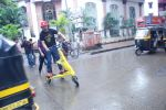 Rannvijay Singh launches Trikke three wheeler carving vehicles in Mumbai on 4th Sept 2012 (1).JPG