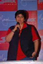Falguni Pathak at navratri press meet by Mangal Entertainment and 3rs Rock Multimedia in Goregaon on 5th Sept 2012 (10).JPG