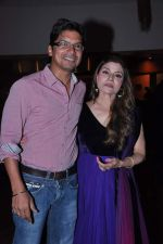 Shaan, Sapna Mukherji at Sapna Mukherjis party for Sound of the Soul in Mabruk Restaurant, Mumbai on 10th Sept 2012 (204).JPG