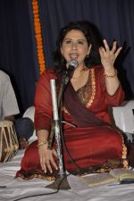Nihaarika Sinha at the music album launch of Nihaarika Sinha_s new devotional album on 11th Sept 2012 (30).JPG