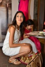 Parvati Melton at Nee & Oink launch their festive kidswear collection at the Autumn Tea Party at Chamomile in Palladium, Mumbai ON 11th Sept 2012 (72).JPG