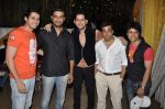 Abhishek Awasthi at Raj of Comedy Circus birthday bash in Mumbai on 16th Sept 2012 (7).JPG