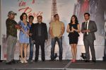 Kishan Kumar, Rhehan Malliek, Preity Zinta, Salman Khan, Prem Raj, Sajid, Wajid at the Audio release of Ishkq In Paris in Mumbai on 17th Sept 2012 (120).JPG