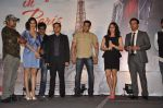 Kishan Kumar, Rhehan Malliek, Preity Zinta, Salman Khan, Prem Raj, Sajid, Wajid at the Audio release of Ishkq In Paris in Mumbai on 17th Sept 2012 (138).JPG