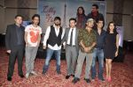 Kishan Kumar, Rhehan Malliek, Preity Zinta, Salman Khan, Rahul Vaidya, Sajid, Wajid at the Audio release of Ishkq In Paris in Mumbai on 17th Sept 2012 (43).JPG
