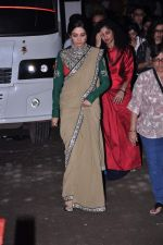 Sridevi snapped in Sabyasachi Dress on the sets of KBC on 18th Sept 2012 (5).JPG