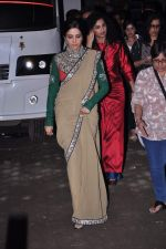 Sridevi snapped in Sabyasachi Dress on the sets of KBC on 18th Sept 2012 (6).JPG