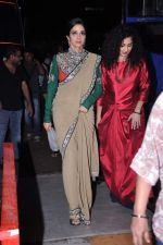 Sridevi snapped in Sabyasachi Dress on the sets of KBC on 18th Sept 2012 (7).JPG