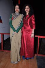 Sridevi snapped in Sabyasachi Dress on the sets of KBC on 18th Sept 2012 (8).JPG