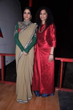 Sridevi snapped in Sabyasachi Dress on the sets of KBC on 18th Sept 2012 (9).JPG