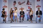 Siddhart Mallya, Lisa Haydon, Nathalia Pinheiro, Karishma Kotak at Kingfisher calendar hunt press meet in Mumbai on 20th Sept 2012 (158).JPG
