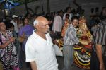 Yash Chopra at Hrithik Roshan_s Ganpati Visarjan on 20th Sept 2012 (79).JPG