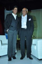 Shahrukh Khan, Yash Chopra at yash Chopra_s birthday in Yashraj Studio on 27th Sept 2012 (90).JPG