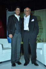Shahrukh Khan, Yash Chopra at yash Chopra_s birthday in Yashraj Studio on 27th Sept 2012 (97).JPG