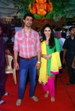 kunal kapoor, Huma Qureshi at times ganesha in Mumbai on 27th Sept 2012 (86).JPG