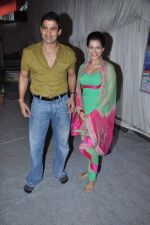 Payal Rohatgi, Sangram Singh at Andheri ka Raja in Mumbai on 28th Sept 2012  (21).JPG