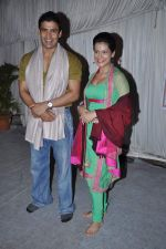 Payal Rohatgi, Sangram Singh at Andheri ka Raja in Mumbai on 28th Sept 2012  (31).JPG