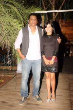 Raakesh paswan-mitali nag at the completion of 100 episodes in Afsar Bitiya on Zee TV by Raakesh Paswan in Sky Lounge, Juhu, Mumbai on 28th Sept 2012.jpg
