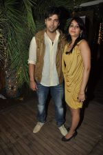 kinshuk mahajan at the completion of 100 episodes in Afsar Bitiya on Zee TV by Raakesh Paswan in Sky Lounge, Juhu, Mumbai on 28th Sept 2012 (53).JPG