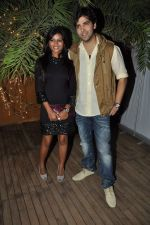 mitali nag, kinshuk mahajan at the completion of 100 episodes in Afsar Bitiya on Zee TV by Raakesh Paswan in Sky Lounge, Juhu, Mumbai on 28th Sept 2012 (57).JPG