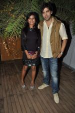 mitali nag, kinshuk mahajan at the completion of 100 episodes in Afsar Bitiya on Zee TV by Raakesh Paswan in Sky Lounge, Juhu, Mumbai on 28th Sept 2012 (60).JPG