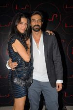 Mehr & Arjun Rampal at LAP opening in Hotel Samrat, New Delhi on 29th Sept 2012.JPG