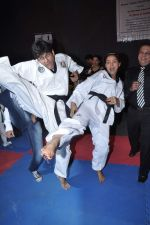 Neetu Chandra get Taekwondo Second Dan Black Belt at The Taekwondo Challenge � 2012 in Once More Studio, Opp. World Gym, Goregaon on 30th Sept 2012 (41).JPG