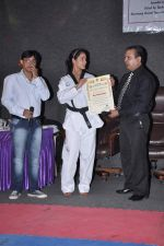 Neetu Chandra get Taekwondo Second Dan Black Belt at The Taekwondo Challenge 2012 in Once More Studio, Opp. World Gym, Goregaon on 30th Sept 2012,1 (102).JPG