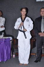 Neetu Chandra get Taekwondo Second Dan Black Belt at The Taekwondo Challenge 2012 in Once More Studio, Opp. World Gym, Goregaon on 30th Sept 2012,1 (104).JPG