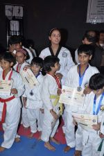 Neetu Chandra get Taekwondo Second Dan Black Belt at The Taekwondo Challenge 2012 in Once More Studio, Opp. World Gym, Goregaon on 30th Sept 2012,1 (112).JPG