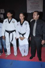 Neetu Chandra get Taekwondo Second Dan Black Belt at The Taekwondo Challenge 2012 in Once More Studio, Opp. World Gym, Goregaon on 30th Sept 2012,1 (114).JPG