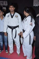 Neetu Chandra get Taekwondo Second Dan Black Belt at The Taekwondo Challenge 2012 in Once More Studio, Opp. World Gym, Goregaon on 30th Sept 2012,1 (115).JPG