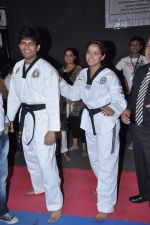 Neetu Chandra get Taekwondo Second Dan Black Belt at The Taekwondo Challenge 2012 in Once More Studio, Opp. World Gym, Goregaon on 30th Sept 2012,1 (122).JPG