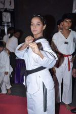Neetu Chandra get Taekwondo Second Dan Black Belt at The Taekwondo Challenge 2012 in Once More Studio, Opp. World Gym, Goregaon on 30th Sept 2012,1 (126).JPG