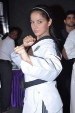Neetu Chandra get Taekwondo Second Dan Black Belt at The Taekwondo Challenge 2012 in Once More Studio, Opp. World Gym, Goregaon on 30th Sept 2012,1 (127).JPG