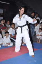 Neetu Chandra get Taekwondo Second Dan Black Belt at The Taekwondo Challenge 2012 in Once More Studio, Opp. World Gym, Goregaon on 30th Sept 2012,1 (93).JPG