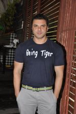 Sohail Khan at the Launch of Shatranj Napoli and Polpo Cafe & Bar in Bandra, Mumbai on 30th Sept 2012 (9).JPG
