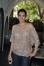 Yukta Mookhey at the Launch of Shatranj Napoli and Polpo Cafe & Bar in Bandra, Mumbai on 30th Sept 2012 (6).JPG