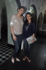 Yukta Mookhey, Prachi Shah at the Launch of Shatranj Napoli and Polpo Cafe & Bar in Bandra, Mumbai on 30th Sept 2012 (4).JPG
