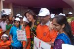 Perizaad Zorabian flags of rally for the cause of cerebral palsy in india on 2nd Oct 2012 (145).JPG
