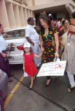 Perizaad Zorabian flags of rally for the cause of cerebral palsy in india on 2nd Oct 2012 (151).JPG