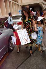 Perizaad Zorabian flags of rally for the cause of cerebral palsy in india on 2nd Oct 2012 (153).JPG
